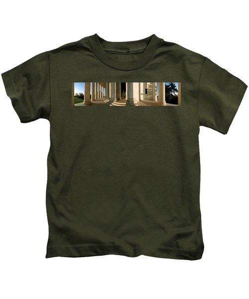 Columns Of A Memorial, Jefferson Kids T-Shirt by Panoramic Images