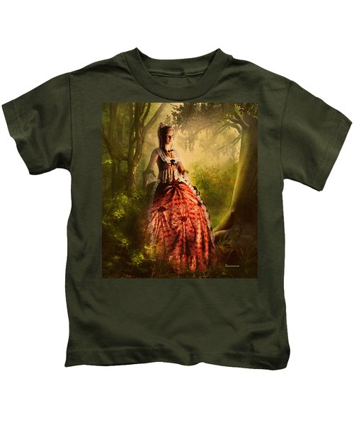 Come To Me In The Moonlight Kids T-Shirt