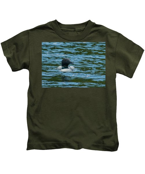Common Loon Kids T-Shirt