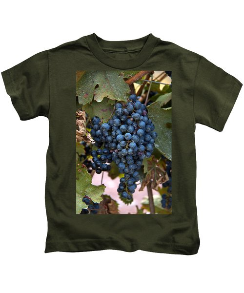Concord Grapes Kids T-Shirt