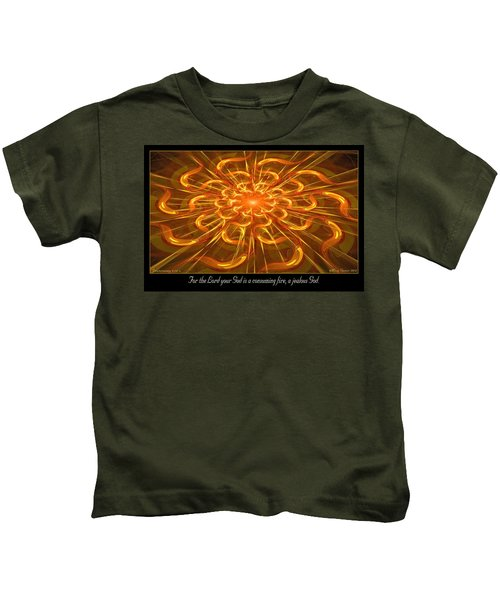Consuming Fire Kids T-Shirt