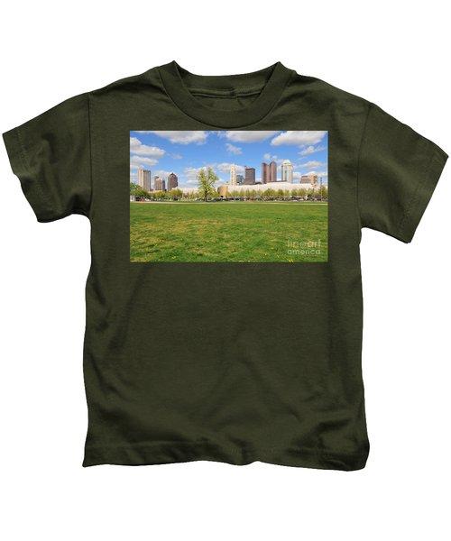 D7l-89 Cosi Columbus Photo Kids T-Shirt