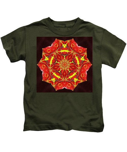 Cosmic Masculine Firestar Kids T-Shirt