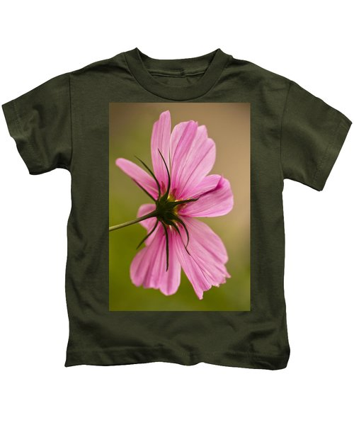 Cosmos In Pink Kids T-Shirt