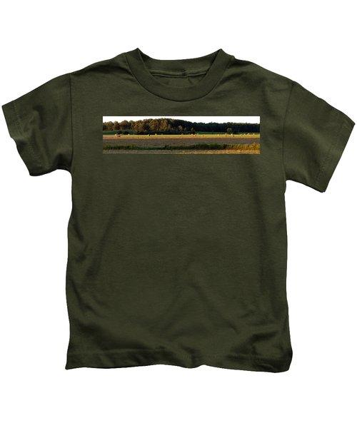 Country Bales  Kids T-Shirt