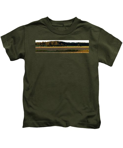 Country Bales  Kids T-Shirt