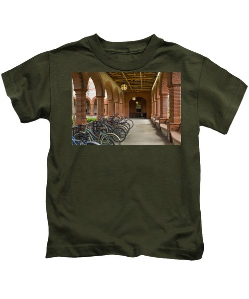 Covered Parking Flagler College Kids T-Shirt