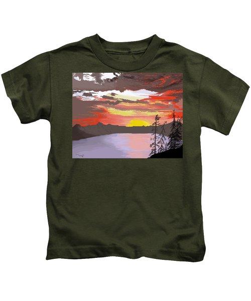 Crater Lake Kids T-Shirt