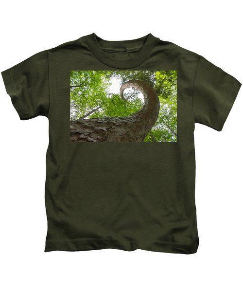 Crooked Spine Pine II Kids T-Shirt
