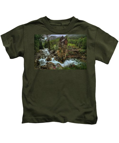 Crystal Mill Riverside Kids T-Shirt