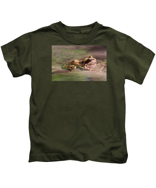Cute Litte Creek Frog Kids T-Shirt