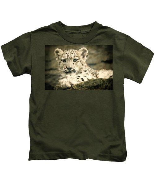 Cute Snow Cub Kids T-Shirt