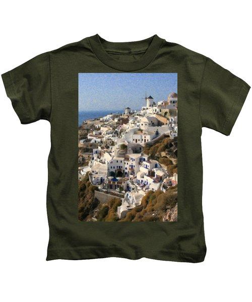Cyclades Grk4309 Kids T-Shirt