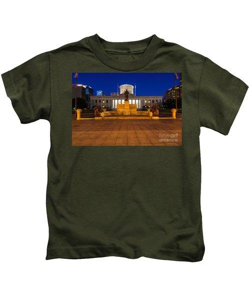 D13l112 Ohio Statehouse Photo Kids T-Shirt