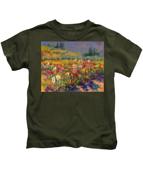 Dahlia Row Kids T-Shirt