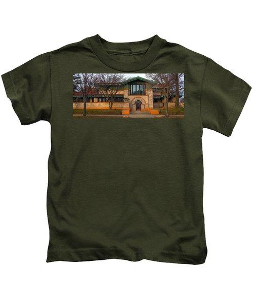 Dana Thomas House Springfield I L Kids T-Shirt