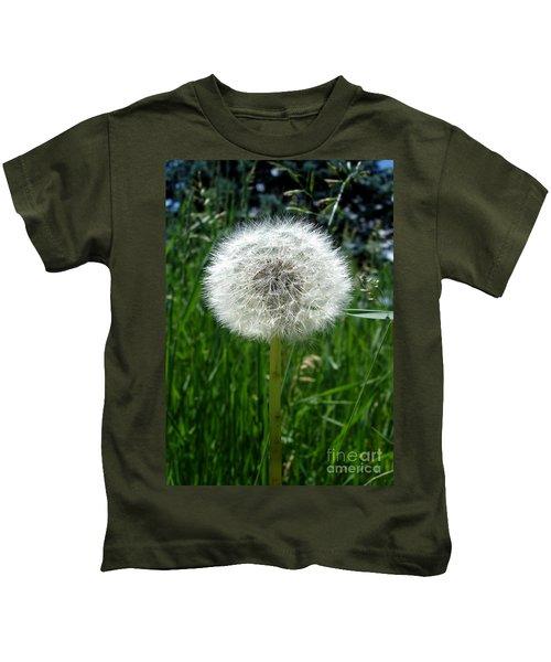 Dandelion Fluff Kids T-Shirt