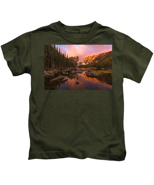 Dawn Of Dreams Kids T-Shirt