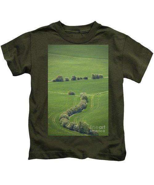 Dazzling Green Kids T-Shirt