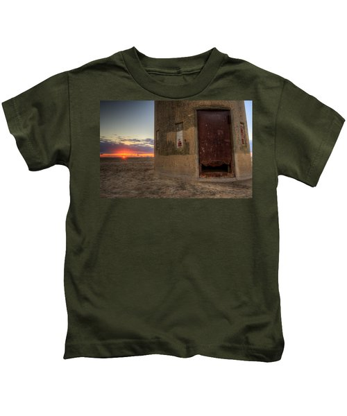 Delaware Lookout Tower Kids T-Shirt