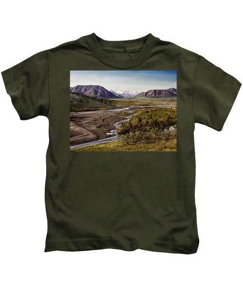 Denali Toklat River Kids T-Shirt
