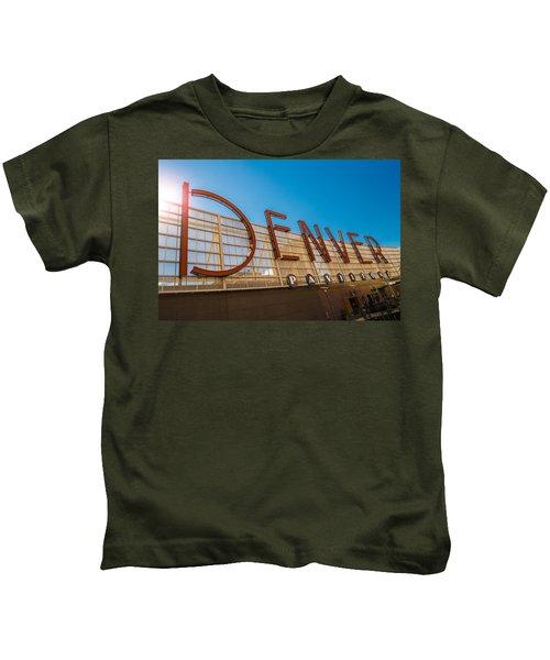Denver Co Sign Kids T-Shirt