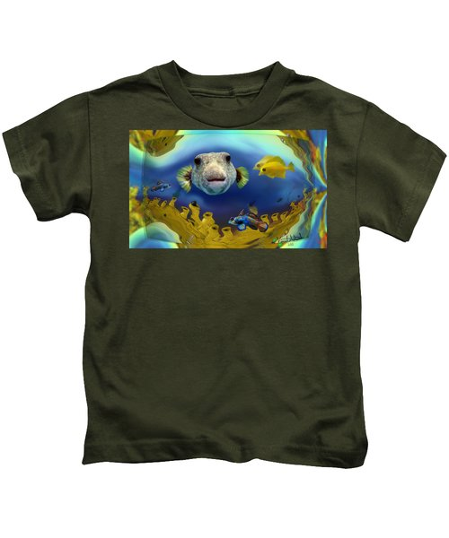 Diver's Perspective Kids T-Shirt