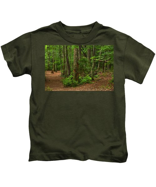 Diverted Paths Kids T-Shirt