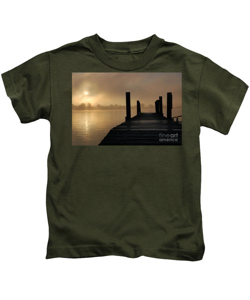 Dockside And A Good Morning Kids T-Shirt