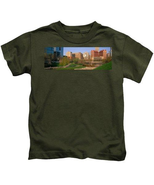 Downtown Omaha Ne Kids T-Shirt