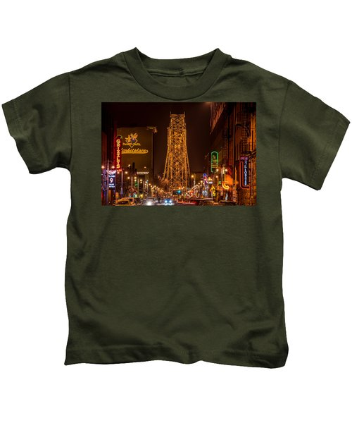 Duluth Lake Avenue Kids T-Shirt