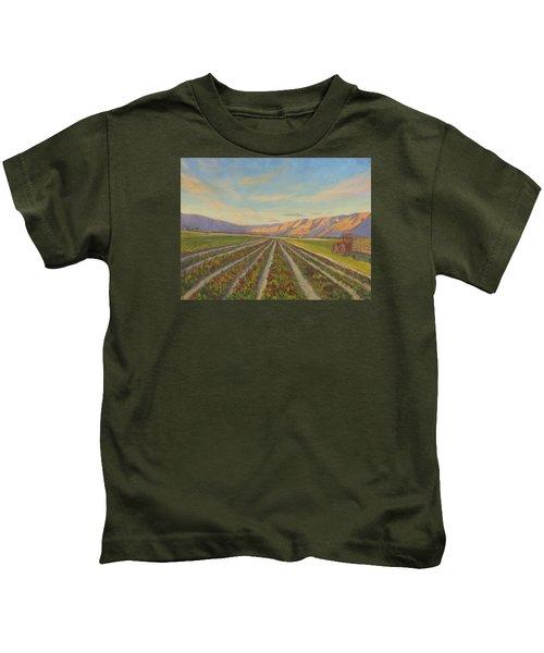 Early Morning Harvest Kids T-Shirt