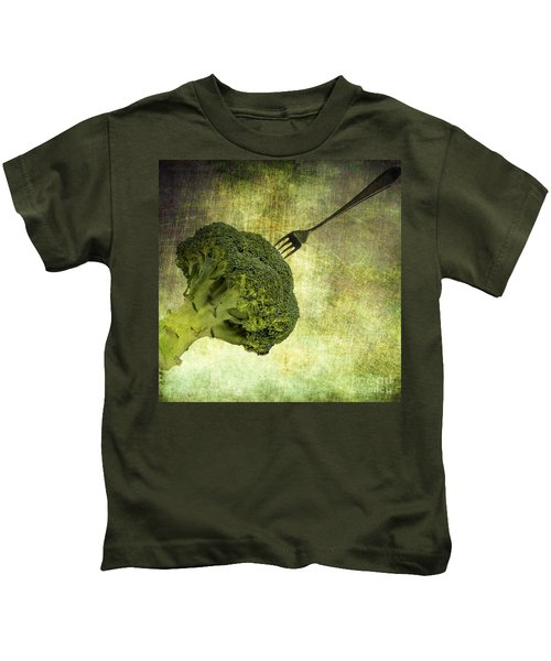 Eat Your Broccoli Kids T-Shirt
