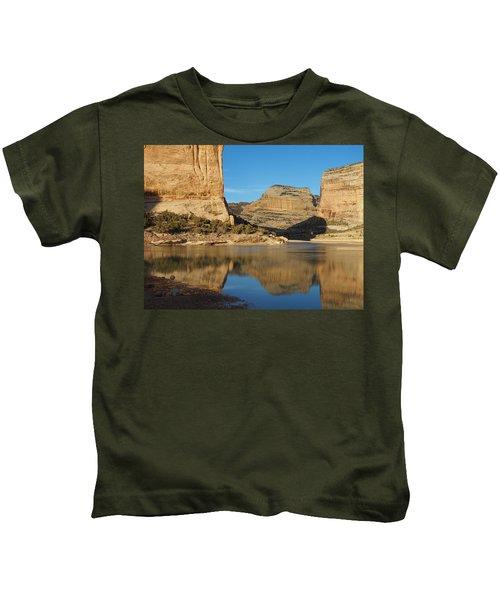 Echo Park In Dinosaur National Monument Kids T-Shirt