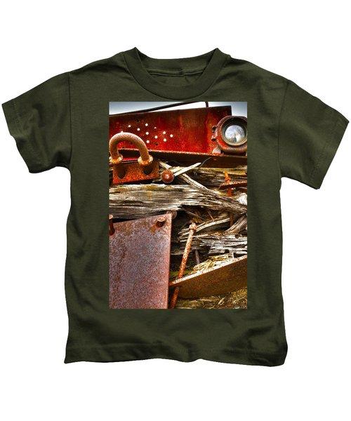 Eckley Faces Kids T-Shirt