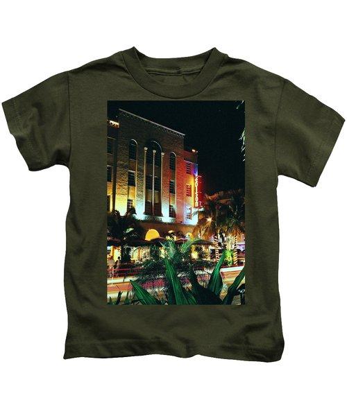 Edison Hotel Film Image Kids T-Shirt