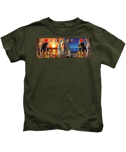 Egyptian Triptych 2 Kids T-Shirt