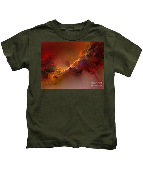 Elemental Force-abstract Art Kids T-Shirt