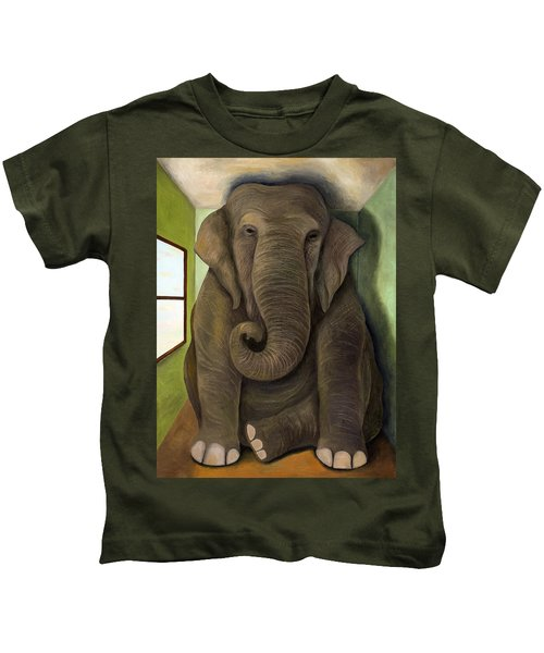 Elephant In The Room Wip Kids T-Shirt