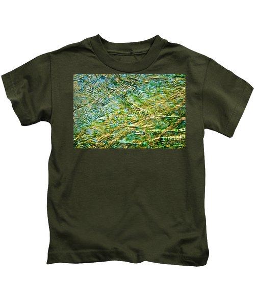 Emerald Water Kids T-Shirt