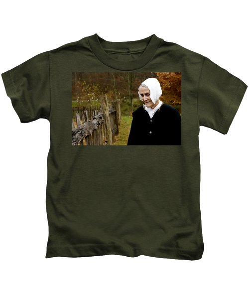 England On The Virginia Frontier Kids T-Shirt