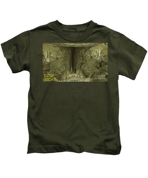 Entrance To The Treasure Chamber Kids T-Shirt