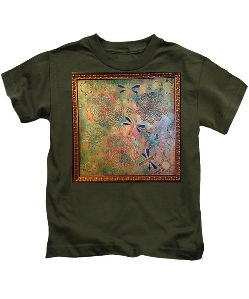 Eternal Sun By Alfredo Garcia  Kids T-Shirt