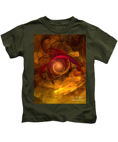 Eternity Of Being-abstract Expressionism Kids T-Shirt