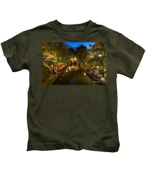 Evening Canal Dinner Kids T-Shirt