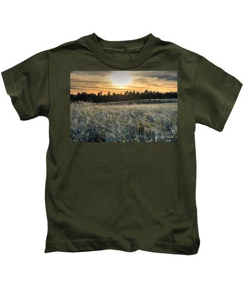 Evening Grasses In The Black Hills Kids T-Shirt