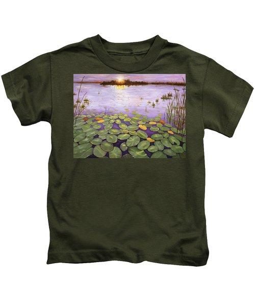 Everglades Evening Kids T-Shirt