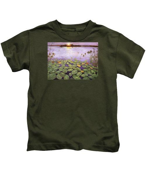 Everglades Evening Kids T-Shirt