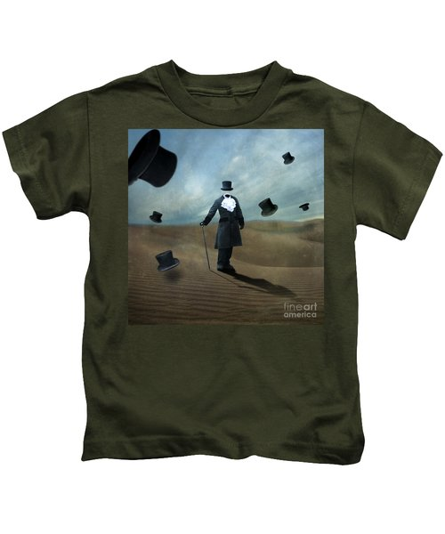 Faceless Kids T-Shirt by Juli Scalzi