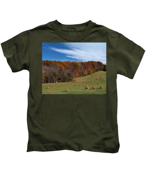 Fall On The Farm Kids T-Shirt